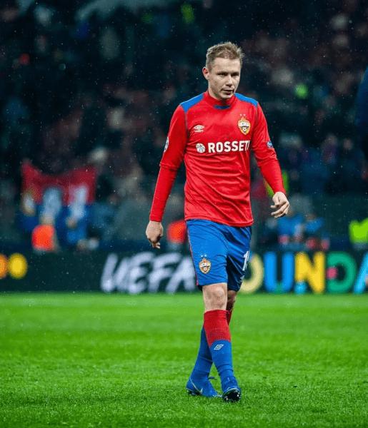 После ухода из клуба Ефремов рассказал, кто его больше всего удивил в ЦСКА.