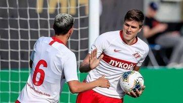 Соболев, Шишкин, Дьяков и Тигиев внесены в заявку «Спартака-2»