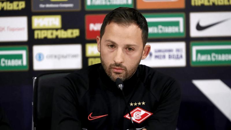 Доменико Тедеско сделал заявление после поражения «Спартака» от «Краснодара»