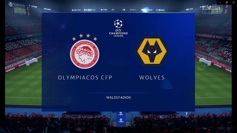 Футбол. Лига Европы УЕФА. 12.03.20. Олимпиакос - Вулверхэмптон. 1-ая игра. Мой прогноз