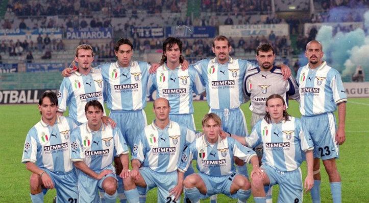 """Когда у """"Лацио"""" были Верон, Недвед, Неста, Симеоне и Манчини, они выиграли Серию А"""
