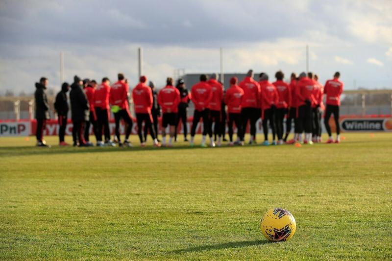 «Спартак» приостанавливает тренировки на неделю