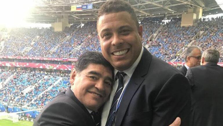 Роналдо назвал состав мечты: в нем есть Марадона, Месси и Пеле, но нет Криштиану