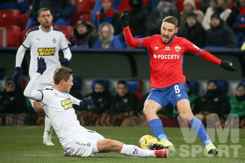 Сумасшедший гол Влашича приносит победу ЦСКА