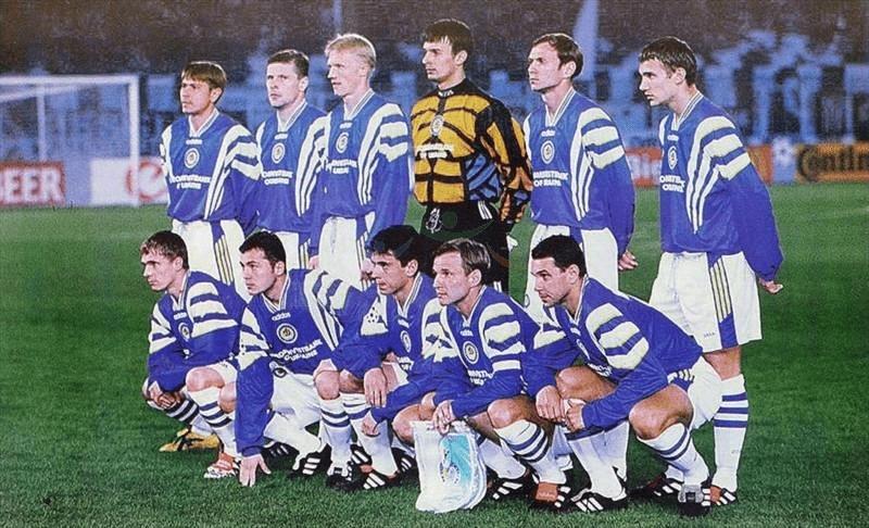 """Великое киевское """"Динамо"""" 1997-1999. """"Творение"""" Лобановского."""