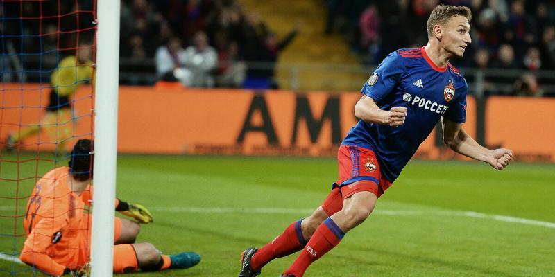 ЦСКА находится на продвинутой стадии переговоров по трансферу нападающего с зарплатой в 1.7 млн евро
