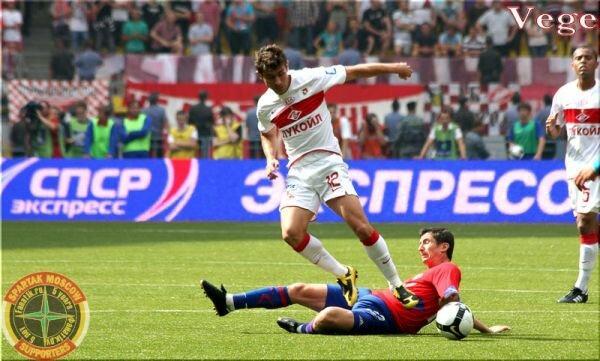 СПАРТАК - ЦСКА, дерби-2009. Как это было