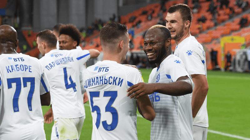 """Премьер-лига. """"Динамо"""" побеждает в Екатеринбурге."""