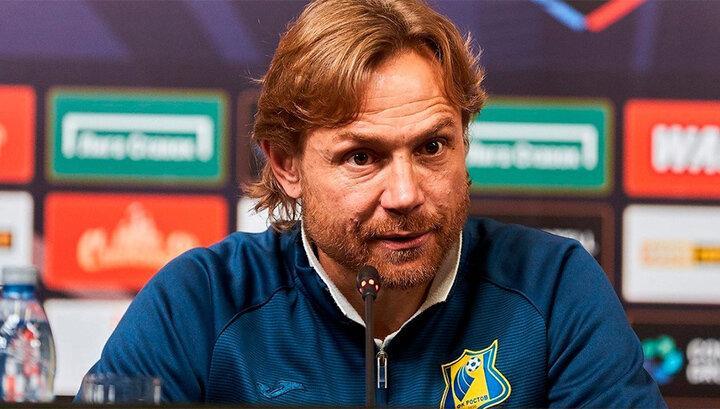 Валерий Карпин высказался об уходе Попова из «Ростова»