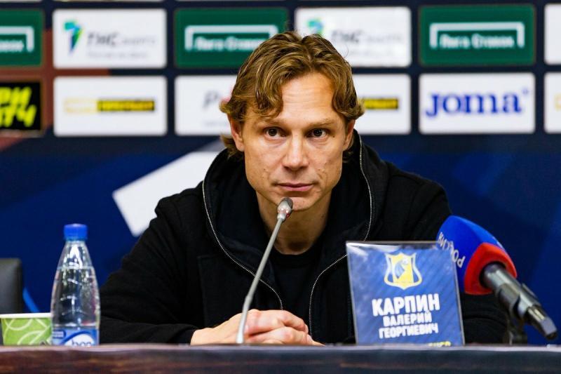 Валерий Карпин сделал заявление после ничьей «Ростова» и «Локомотива»