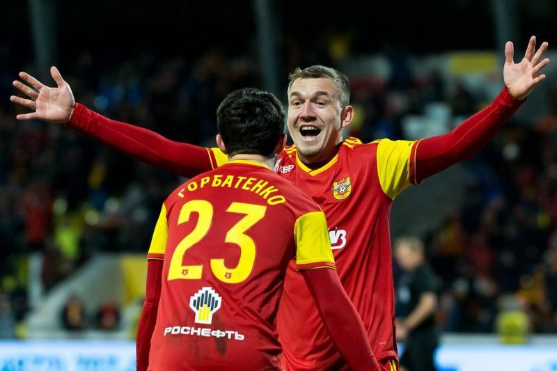 Болельщики признали Луценко лучшим игроком года в тульском «Арсенале»