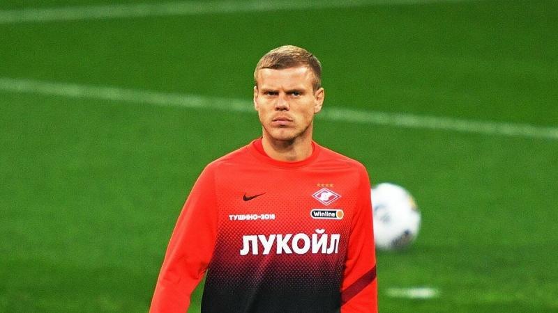 Кокорин сделал заявление по поводу своего перехода из «Спартака» в «Фиорентину»