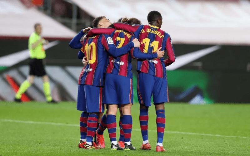 Барселона 4 - 1 Уэска | Барса приближается к вершине