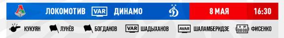 """Последние новости московского """"Динамо"""" на 7 мая"""