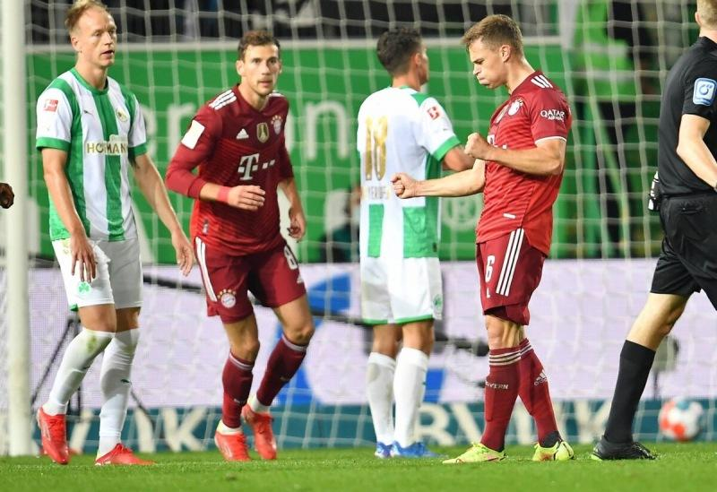"""Чемпионат Германии. """"Бавария"""" продолжает уверенно побеждать."""