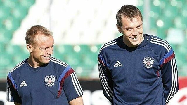 Дзюба в сборной России по футболу. Валерий Карпин назвал расширенный список сборной