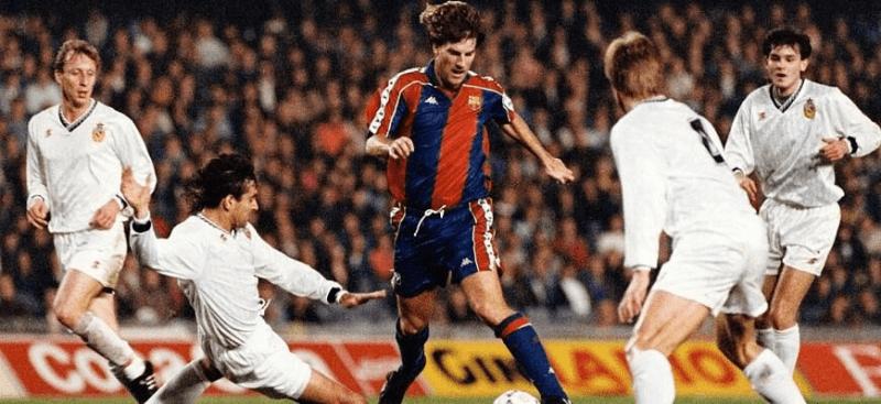 Легендарные матчи клубов РПЛ в еврокубках: Барселона - ЦСКА - 2:3