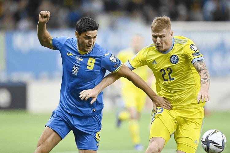 Отборочный турнир ЧМ-2022. Казахстан в матче-триллере снова остановил Украину.