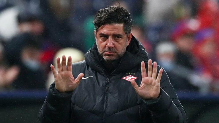 Время Руя Витории в «Спартаке» подошло к концу. Португальский наставник будет уволен