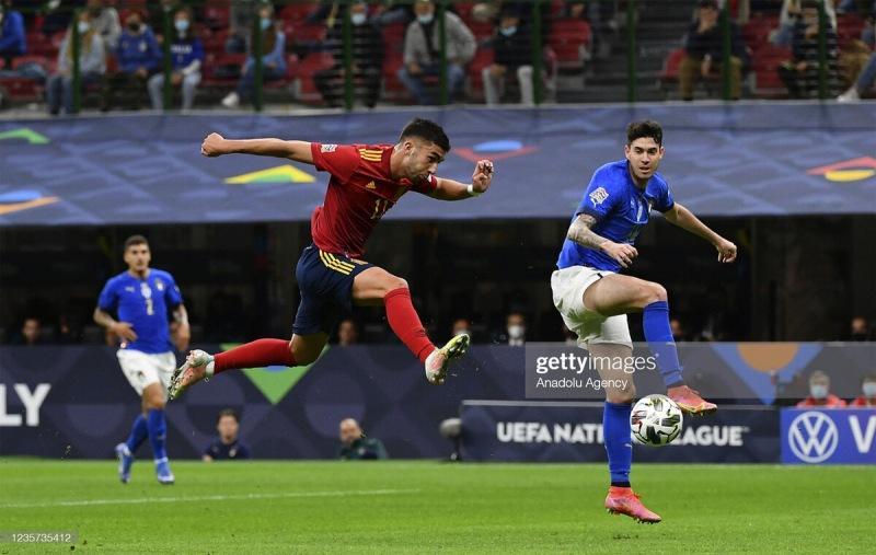 Лига Наций. Испания мстит и бьет рекорд итальянцев.